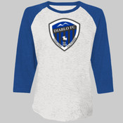 Baseball Shirt - Next Level Unisex Tri-Blend 3/4-Sleeve Raglan